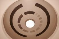 Geometric modern ceiling in Palos Verdes