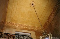 Faux finish ceiling and border drawing