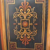 Rectangle faux Marquetry