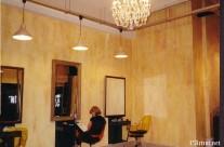 Faux finish at Hair dresser salon in Paris