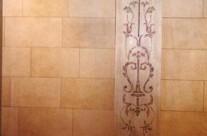 Italian panel & stone finish