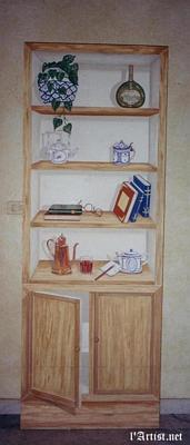 Cabinet Trompe l'oeil